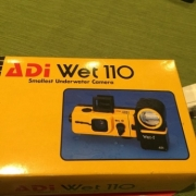 ADI Wet 110 UW Camera. Yellow